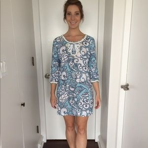 Lilly Pulitzer Beaded Tunic Dress, XS